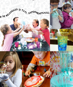Trusă cu experimente copii