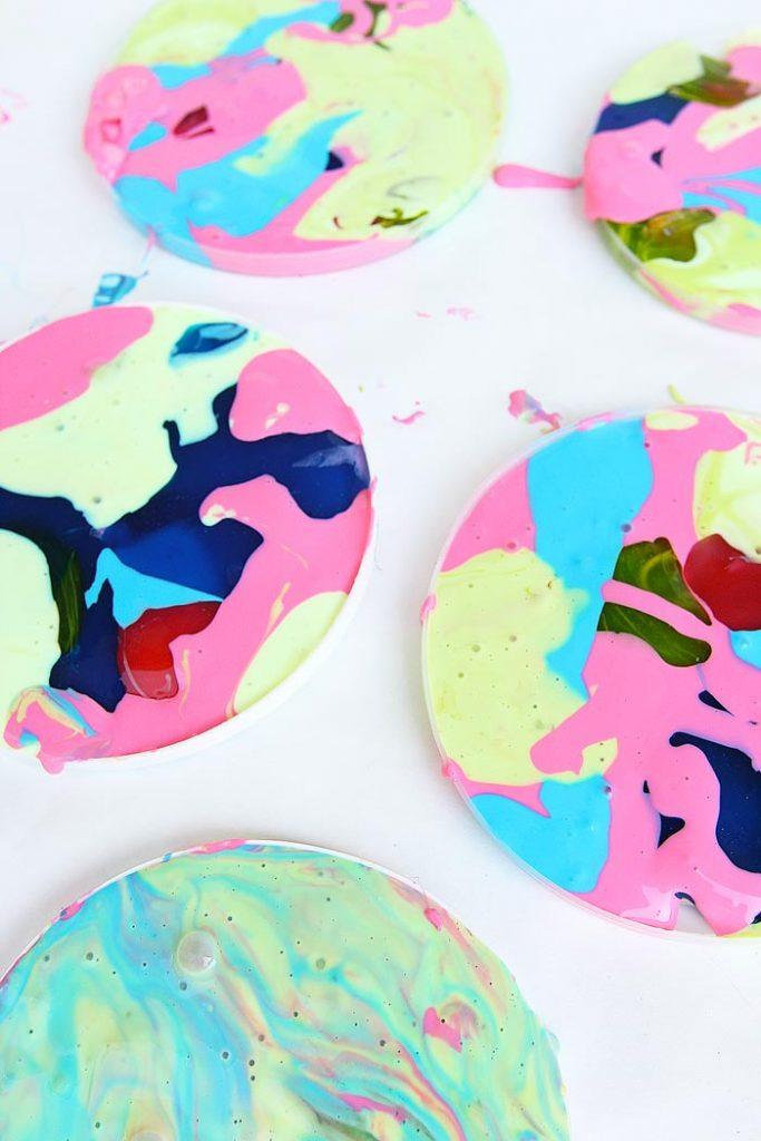 Slime colorat