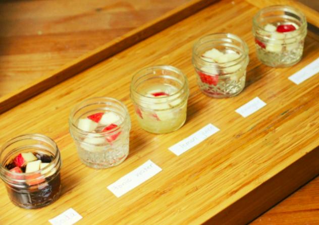 Experimentul stiintific cu mere pentru copii